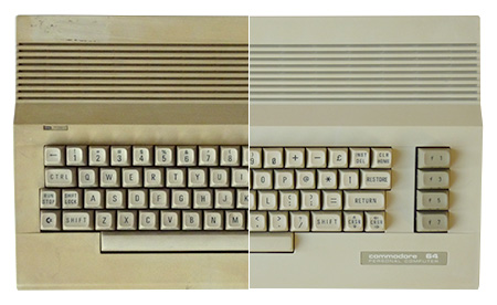 Retr0Bright - Commodore 64C