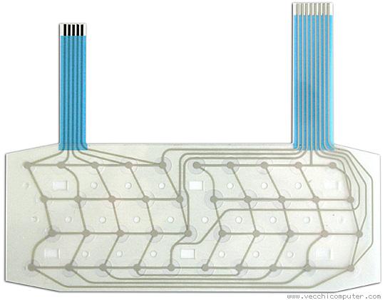 la nuova membrana per lo ZX Spectrum