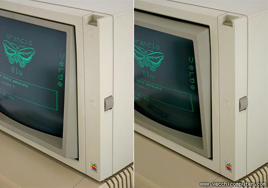 Apple Monitor II (dettaglio)