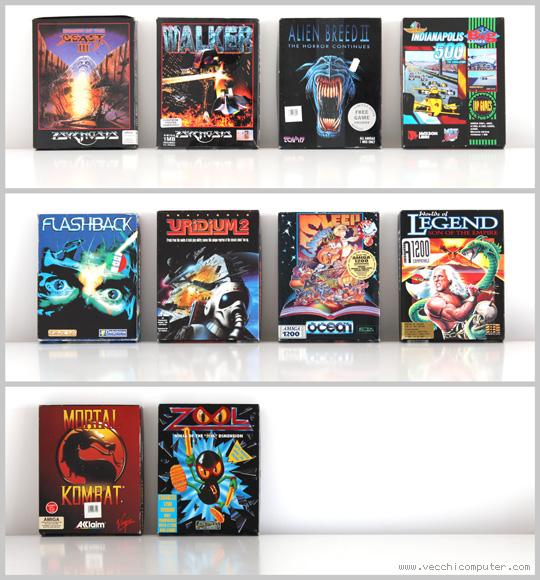 Amiga 1200 - giochi