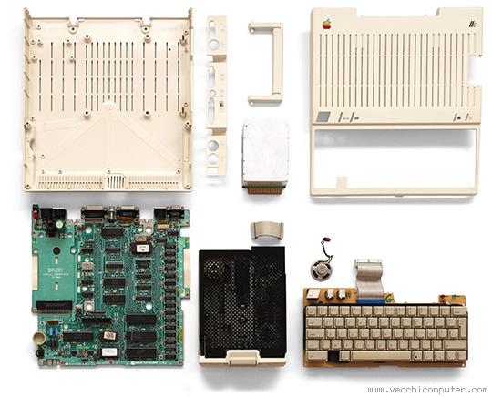 Apple IIc - componenti