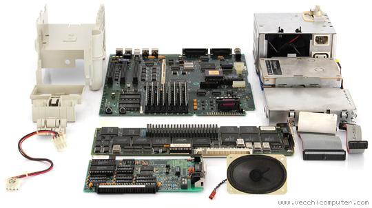 Apple Macintosh IIcx - componenti
