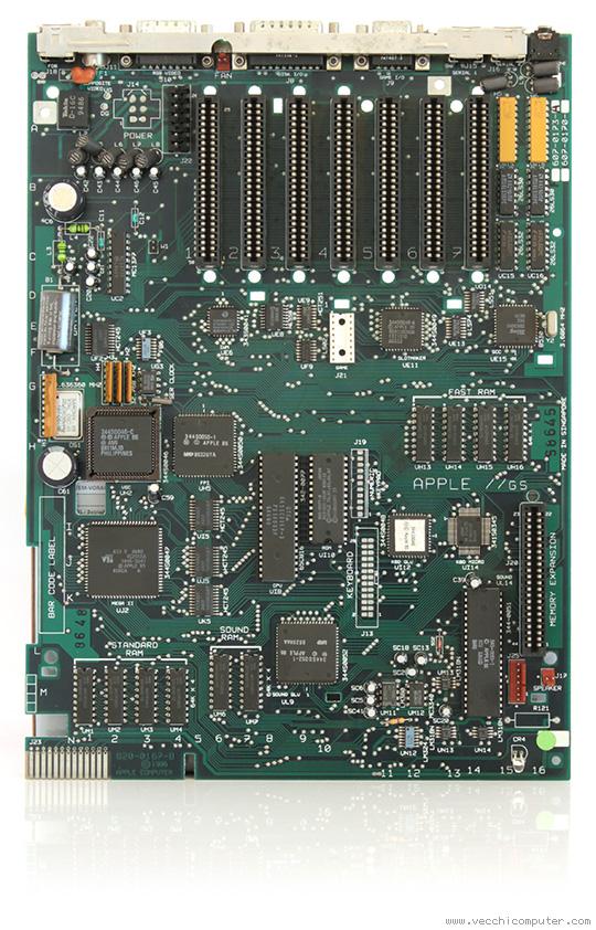 Apple IIgs - scheda madre