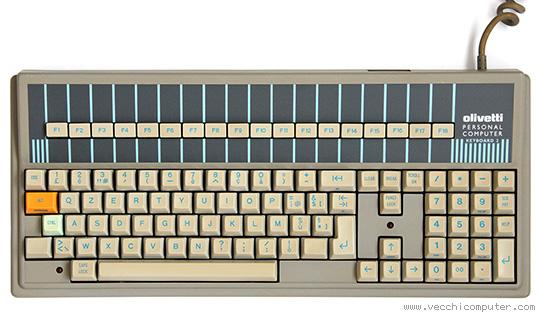 Tastiera Olivetti M24