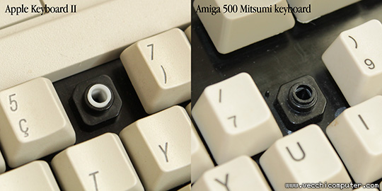 tastiere (lato superiore)