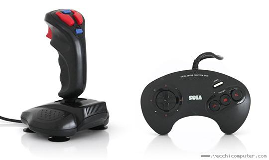 Sega Mega Drive control pad, QuickShot joystick QS-135