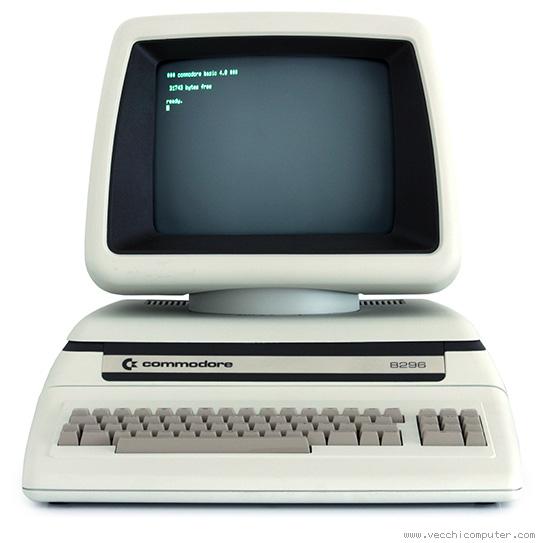 Commodore 8296 (fronte)