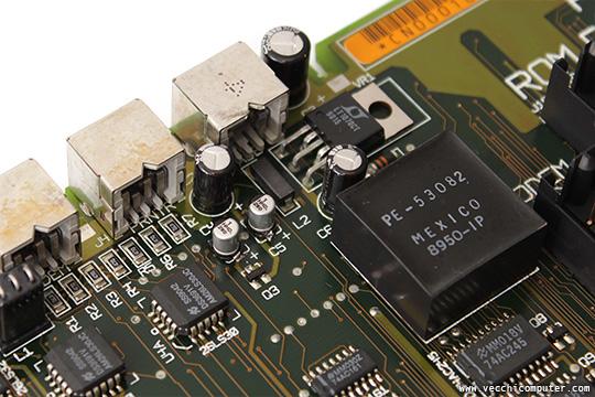 Macintosh Portable - condensatori nuovi