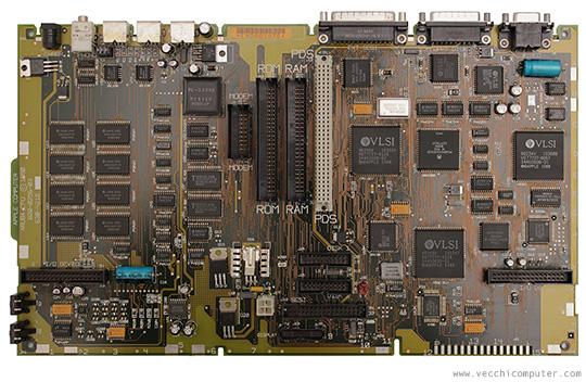 Macintosh Portable - scheda madre