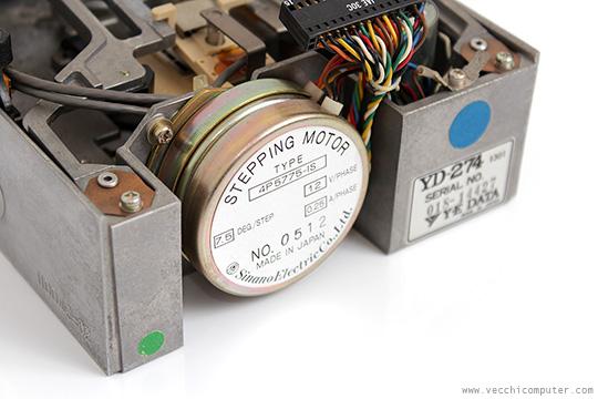 Sharp MZ-80FD - stepping motor