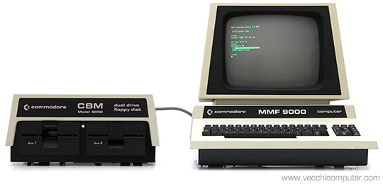 Commodore MMF 9000 + 8050