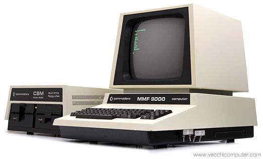 Commodore MMF 9000 +8050