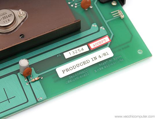 Commodore VIC 20 - data di produzione