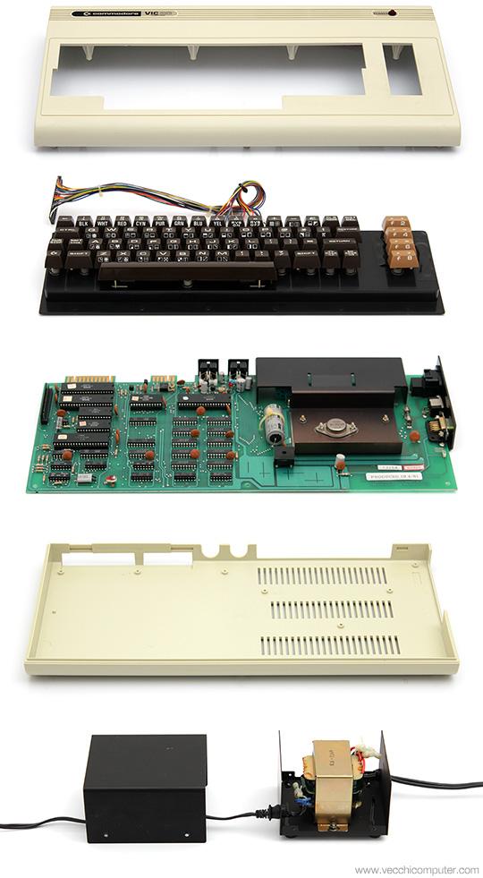 Commodore VIC 20 - pezzi