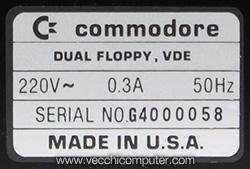 Commodore 4040 - SN