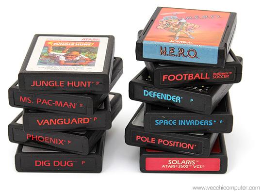 Atari 2600 - Cartucce