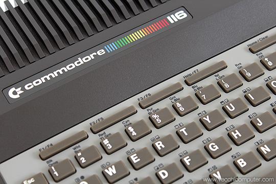 Commodore 116 - Dettaglio