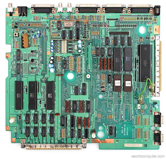 Commodore Amiga 1000 - Scheda madre