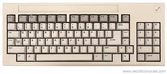 Commodore Amiga 1000 - Tastiera