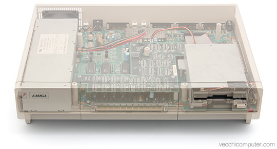 Commodore Amiga 1000 - Trasparente