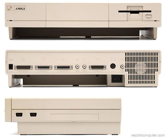 Commodore Amiga 1000 - Viste