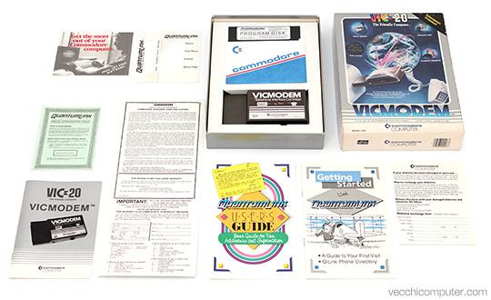 Commodore VICModem - contentuti della confezione
