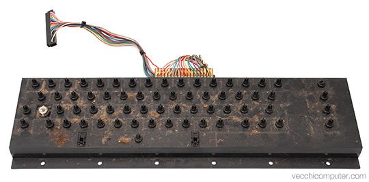 Commodore VIC 20 - tastiera sporca