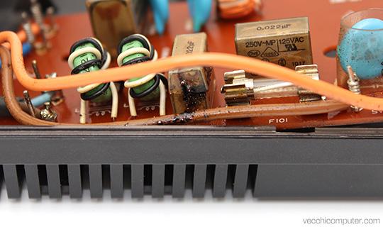 Sony Hit Bit HB75P - filtri RIFA