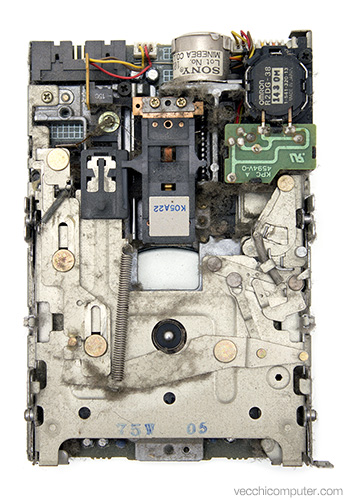 Apple floppy drive - sporco