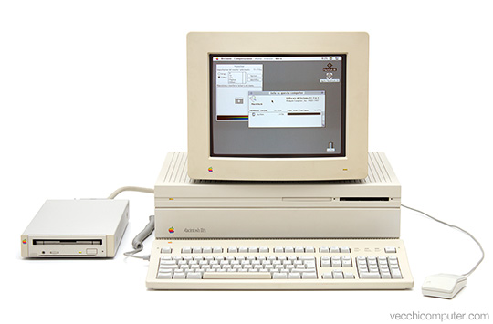 Apple Macintosh IIfx - sistema completo