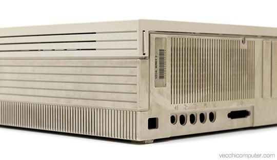 Apple Macintosh IIfx - sporco/pulito
