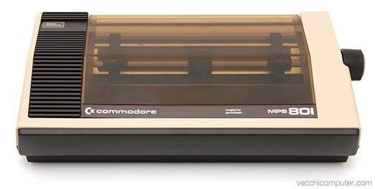 Commodore MPS 801 - fronte