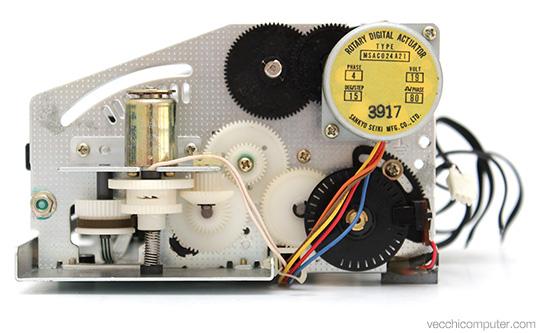 Commodore MPS 801 - interno