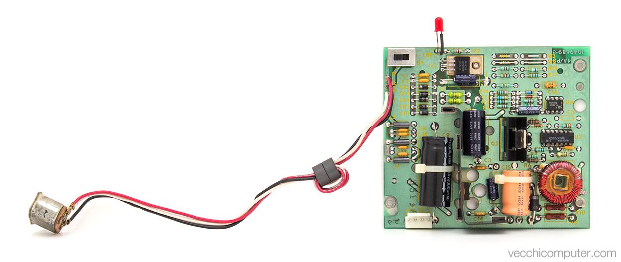 Texas Instruments TI-99/4a - scheda alimentazione