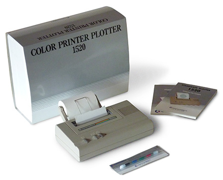Commodore Color Printer Plotter 1520