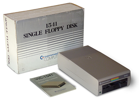 Commodore Single Drive Floppy Disk 1541