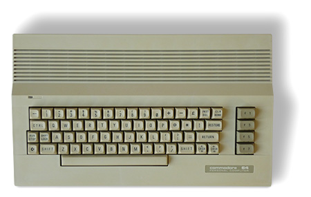 Commodore 64C restaurato