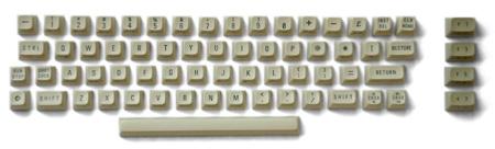 Commodore 64C pulizia dei tasti