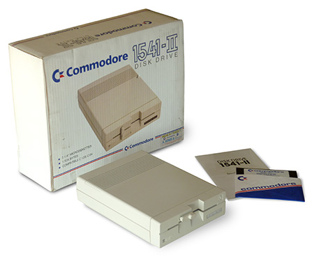 Commodore 1541-II Floppy Drive