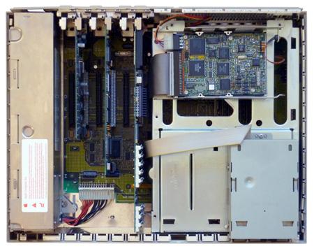 Radius Rocket nel Macintosh IIx
