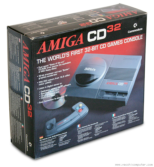 Commodore Amiga CD32 (scatola)