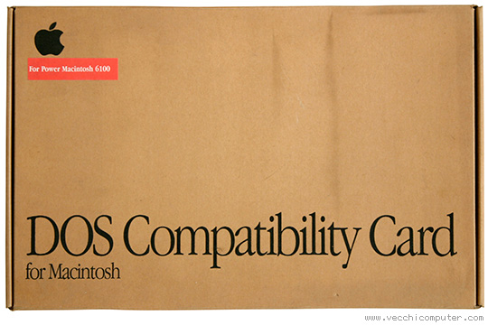 DOS Compatibility Card (scatola)