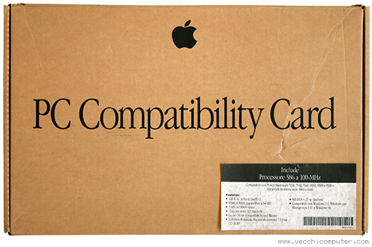 PC Compatibility Card (scatola)