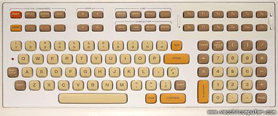 HP 9825B (dettaglio tastiera)
