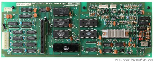 Commodore SX-64 (scheda madre)
