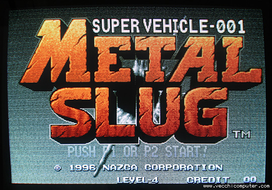 Metal Slug - title screen