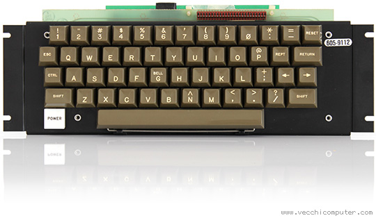 Apple II europlus (tastiera)
