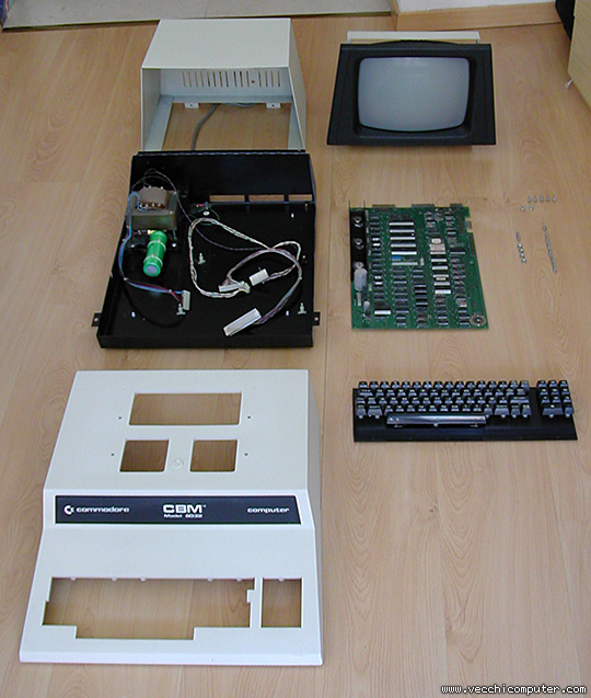 Commodore 8032 (smontato)