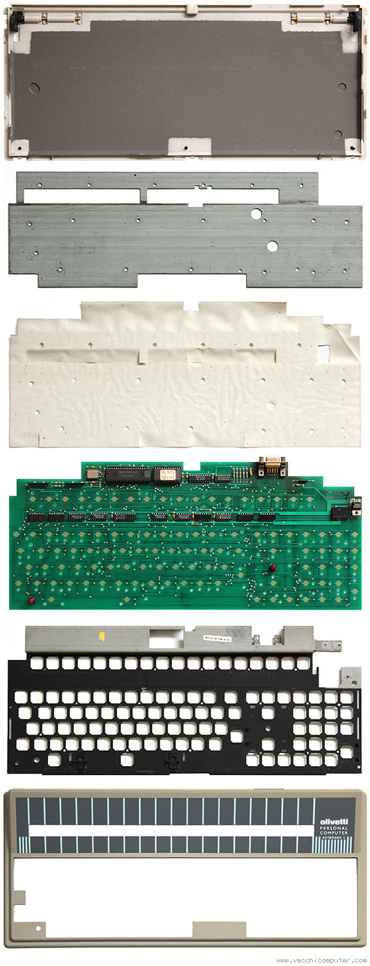 Tastiera Olivetti M24 (strati)