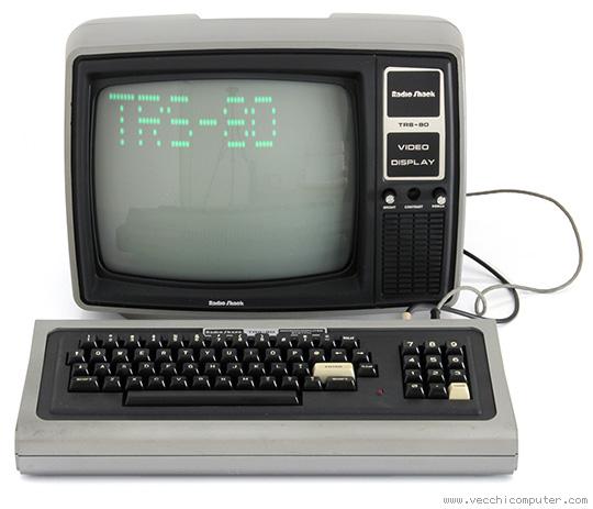 TRS-80 con monitor